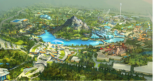 EarthQuest Resort rendering
